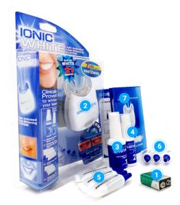 Ionic White whitening, συστατικα - how to use;