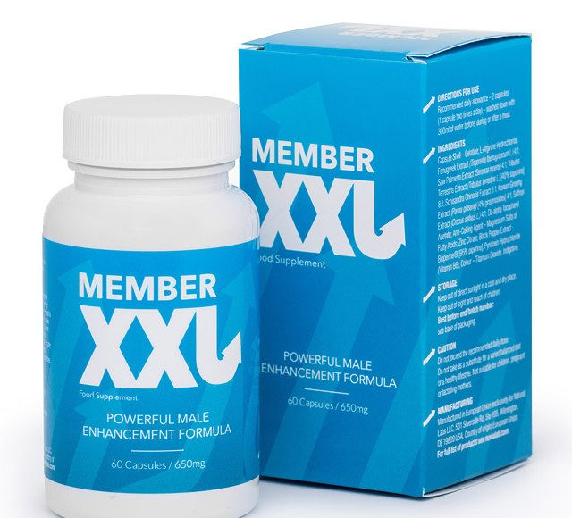Member XXL ολοκληρώθηκε οδηγός 2019, κριτικές - φόρουμ, σχόλια, capsule - συστατικά - λειτουργεί, τιμη, Ελλάδα - original